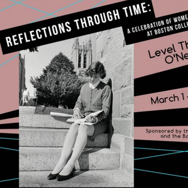 Reflections through Time exhibit poster