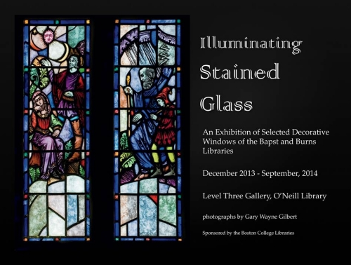 Illuminating Stained Glass exhibit poster