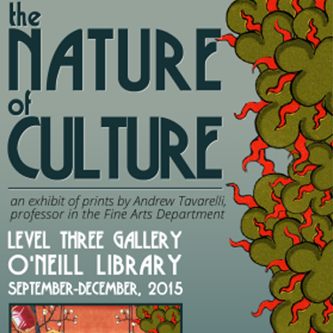 The Nature of Culture exhibit poster