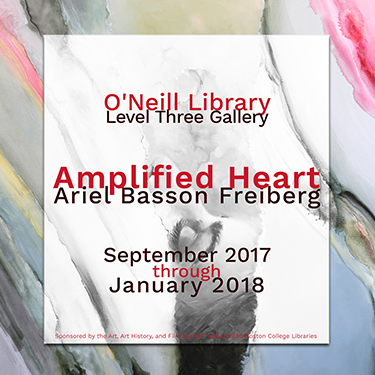 Amplified Heart exhibit poster