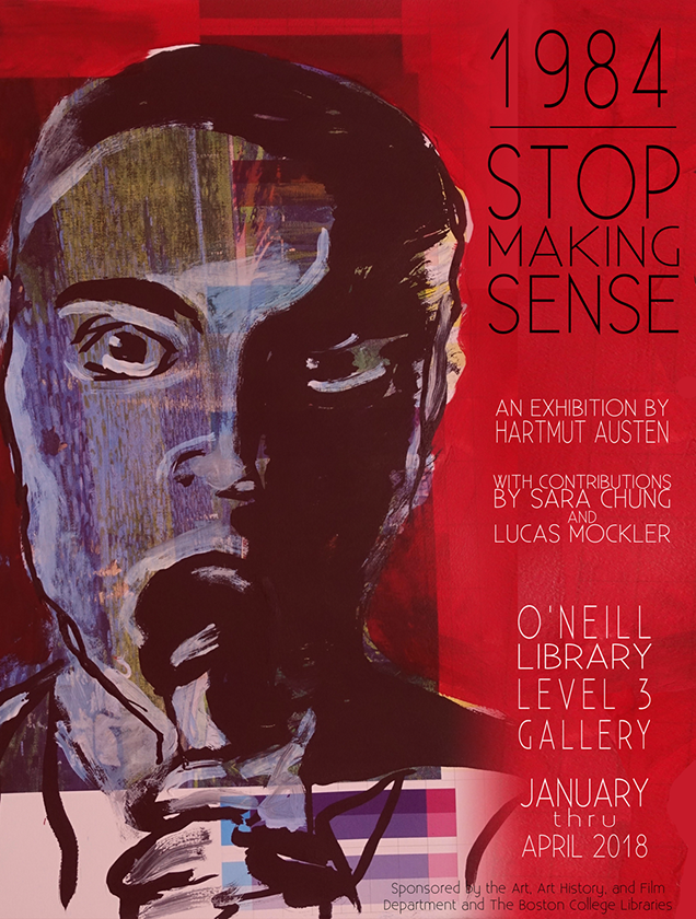 Stop Making Sense sketchy painting
