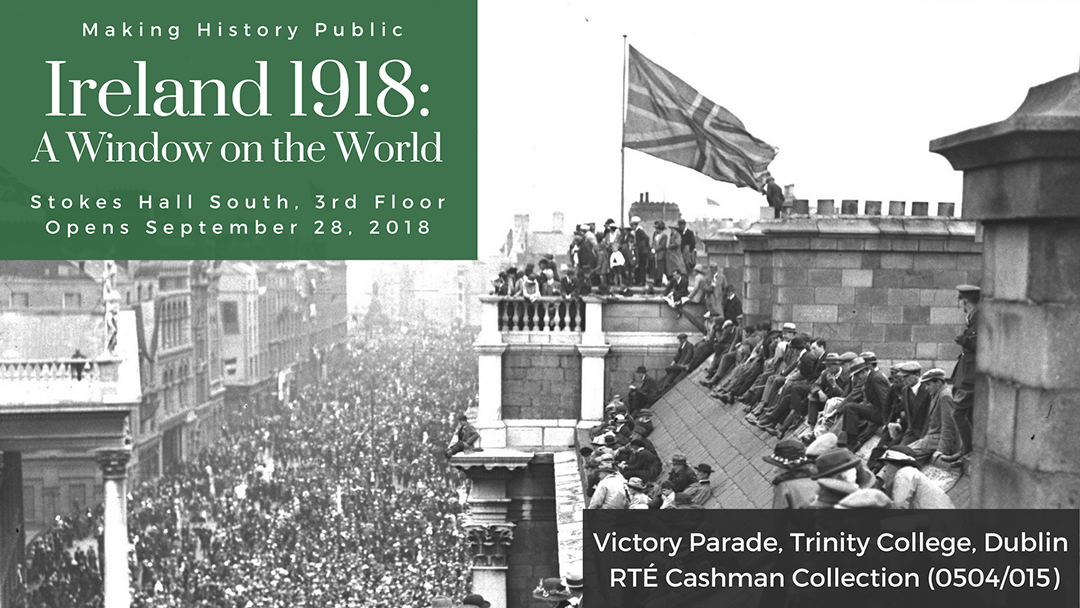 Victory Parade, Trinity College, Dublin