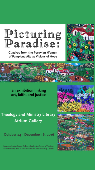 Picturing Paradise exhibit poster