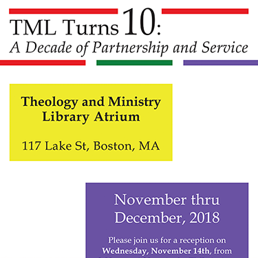 TML Turns 10  A Decade of Partnership and Service