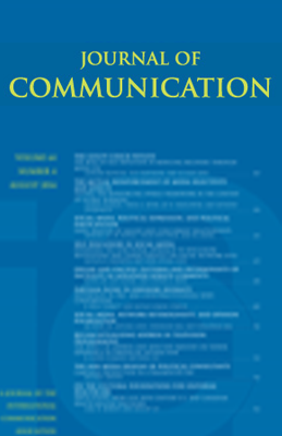 Cover of Volume 64, Issue 4 of the Journal of Communication