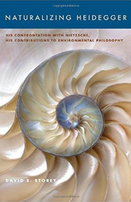 Book cover featuring a helix shell