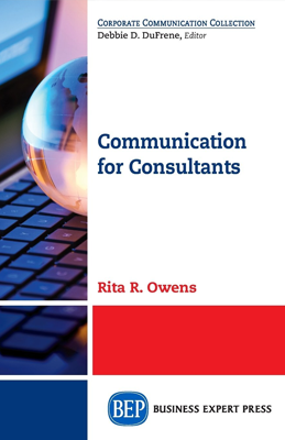 Book cover for Communcation for Consultants