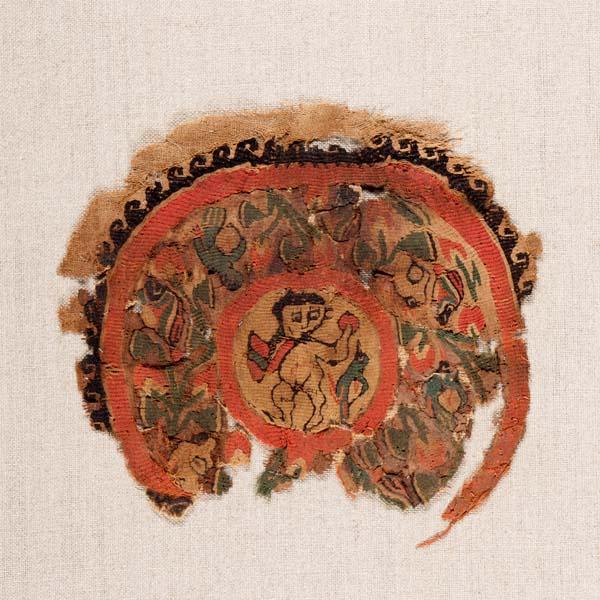 Fragmentary tunic roundel