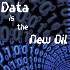 Image reads: Data is the New Oil