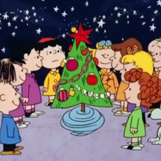Screencap of the film A Charlie Brown Christmas