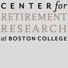 Image reads Center for Retirement Research at Boston College
