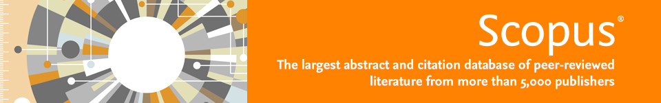 Scopus, the largest abstract and citation database of peer-reviewed literature from more than 5,000 publishers