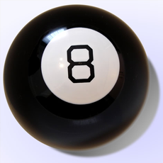 A Magic Eight Ball