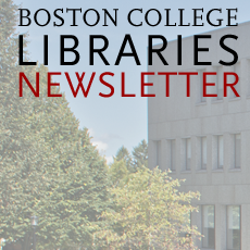 Boston College Libraries Newsletter