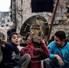 A photo of Syrian Children