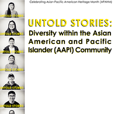 Photos of Asian American and Pacific Islander students