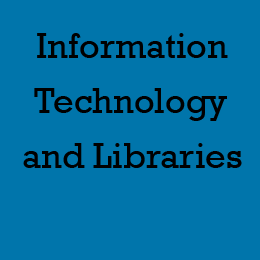 Title reads Information Technology and Libraries