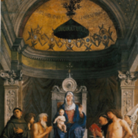 Madonna and Child with Saints and Angels (San Giobbe Altarpiece)